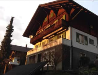 Our Swiss chalet house
