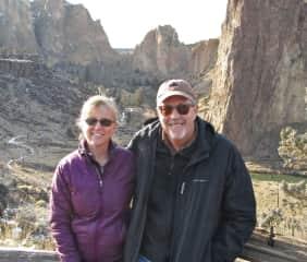 Hiking at Smith Rock, Oregon