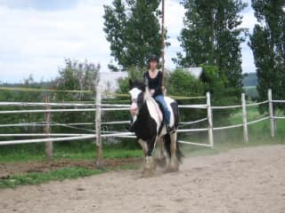 Riding in Finland