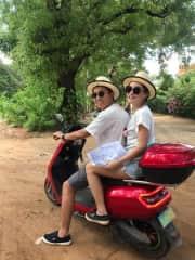 Exploring the ancient city of Bagan, Myanmar