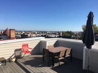 View of DC from private terrace