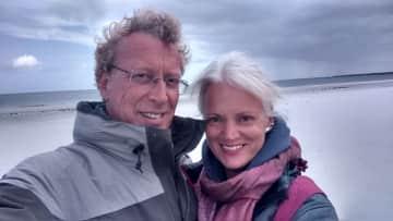 Karin and  my husband Bernd