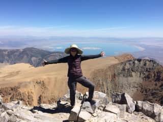 elfin up Mount Dana