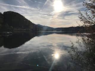 Our village lake