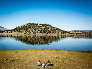 Lakeside lounge   Lake Shastina - Weed, CA