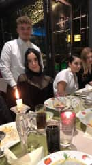 Me and my Friends at my Birthday Dinner last year