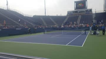 Big tennis fan - this is the US Open in NYC from a couple years ago.