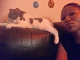 Daisy the Cat and I