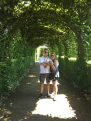 Troy and Stef in Belgium