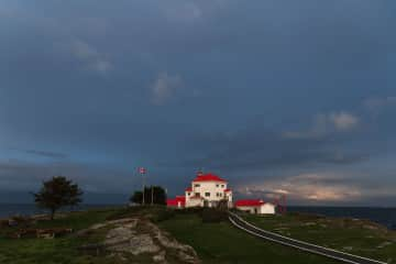 Our Light station and full time home, Entrance Island Lightstation.