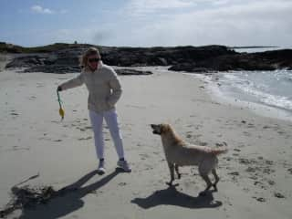 Lillie and I in the West of Ireland