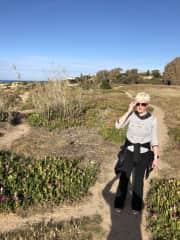 Enjoying the Algarve coastline!