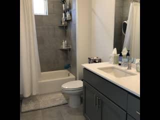 Guest/kids' bathroom.