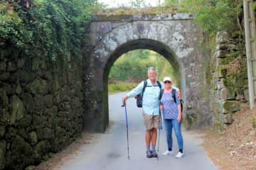 We walked the Camino de Santiago de Compostela from Portugal to Spain with a group of dear friends.