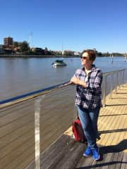 Me at Brisbane River