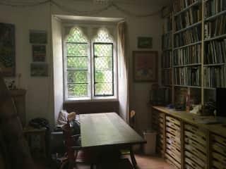 Dining room/studio