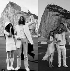 Wedding Day - Following footsteps of John Lennon in Gibraltar