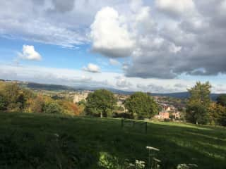 View of Ludlow from Whitcliffe