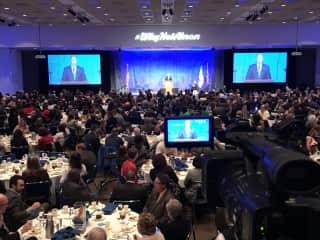 Video job - convention center 2018.