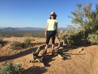 Me in the Arizona desert November 2018