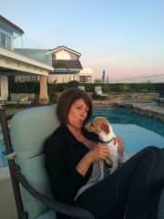 Cindy with Chaka