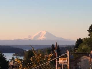 View of Mount Rainier--two blocks away