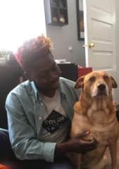 Abiola pet sitting Kenzie in New Orleans