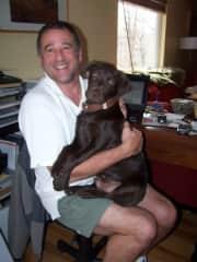 Bacchus as a little puppy!