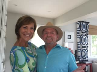 Roseanne and Jay Brown