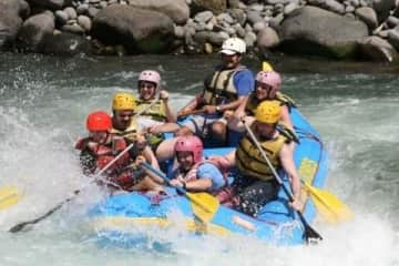 Rafting the Pacuare in Costa Rica