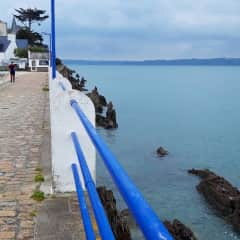 Our favourite seaside place - Locquirec. Only half an hour away and with lovely restaurants and cafes.