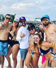 Me and some friends at Hangout Fest 2018