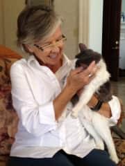 Bev and Maddy love cuddling