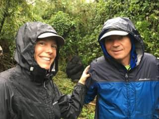 Hanging with the gorillas in Rwanda!
