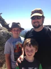 Canyon, Kelvin and Oakley