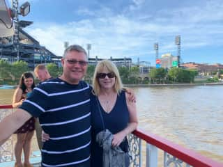 Boat ride on Pittsburgh's three rivers