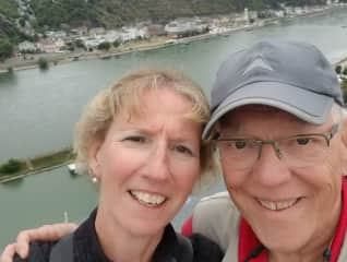 A river cruise on the Rhine