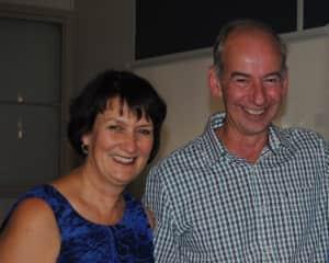 Jennifer Leishman and husband Graeme