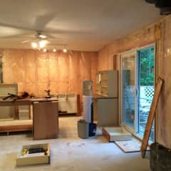 Cabin renovation - before