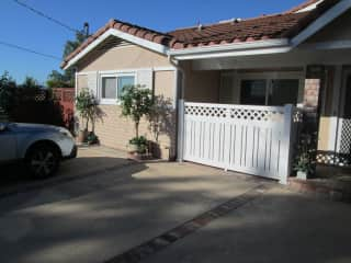 Front of house in West Hills, Ca