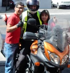 With Willy & Zuzi in Quito, Ecuador