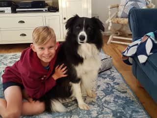 Darcy, our son with Daisy