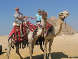 Vince & Bridget in Egypt
