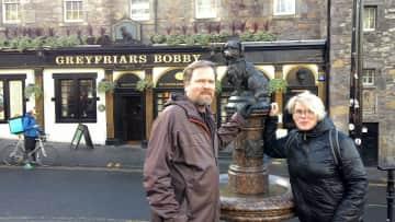 Here in Edinburgh with Stefán