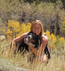 Maggie and I on one of our favorite hikes taking, basking in the beauty that life offers.