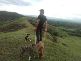 Last walk on the mountain before leaving Haiti