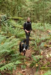 Hiking with Bear!