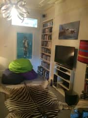 TV room/library