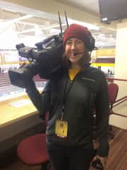 My job working for UMN Gopher Sports!