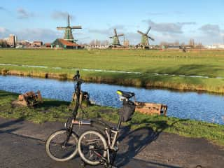 Exploring the Netherlands by bicycle